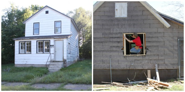 First House Collage