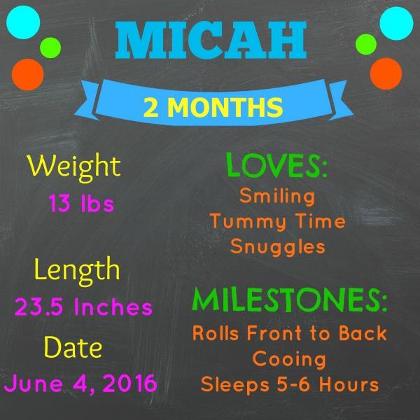 MICAH 2 Month STATS