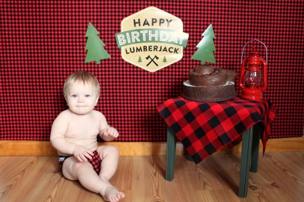 2- Lumberjack Cake Smash